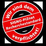 SIGNO-PIZnet Recherchestandard
